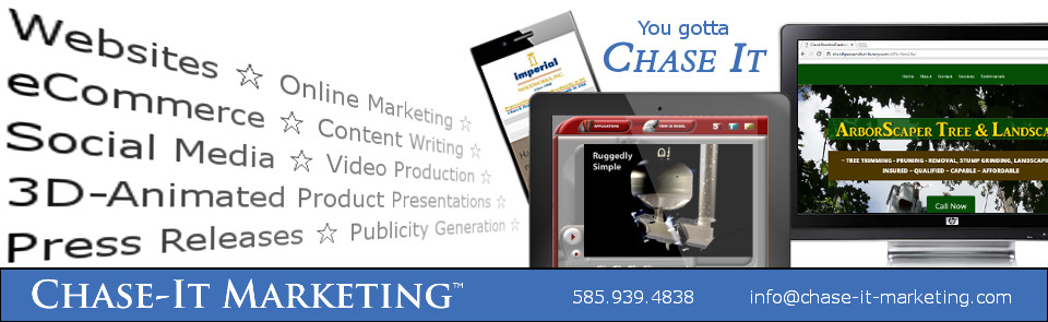 Digital Marketing Services provided by Chase-It Marketing